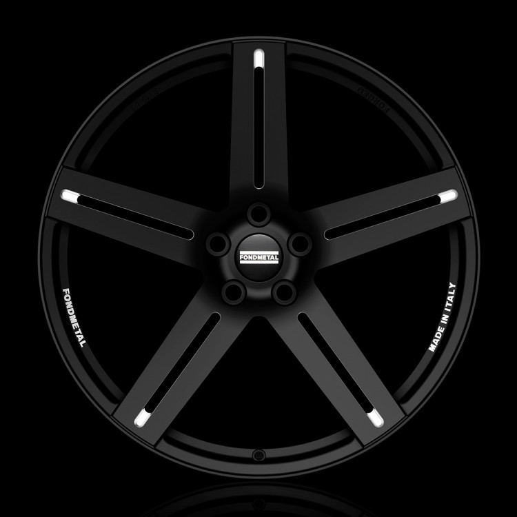 9STC-F1 Black milled, Concave