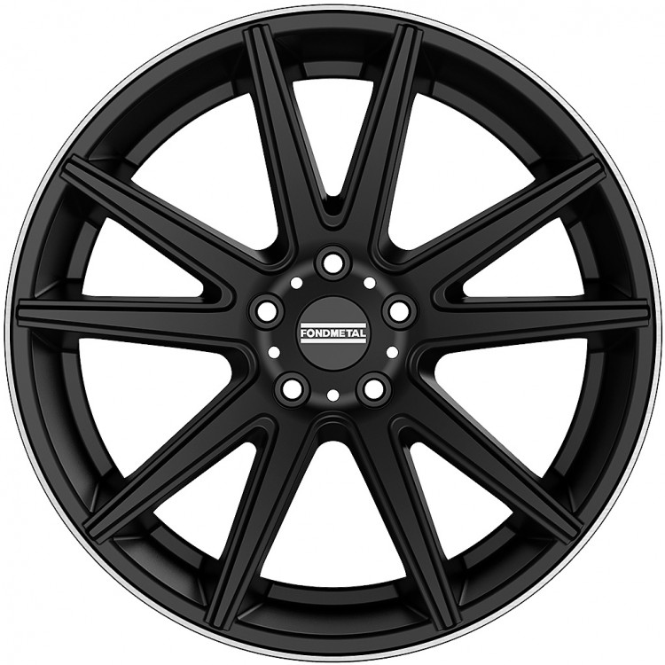 STC-10 Black machined lip, Concave