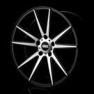 STC-10 Black machined, Concave